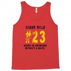 Gibbs's Rules 23 Tank Top | Artistshot