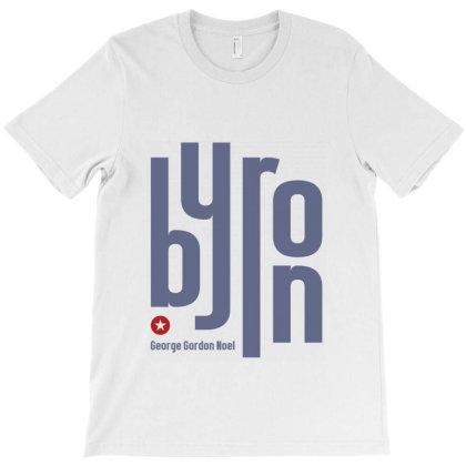 Byron George English Poet T-shirt Designed By Designisfun