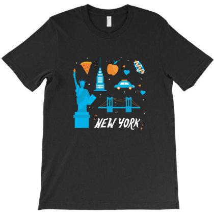 New York City, America, Usa T-shirt Designed By Estore