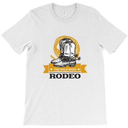 The Wild West, Rodeo, America, Usa T-shirt Designed By Estore