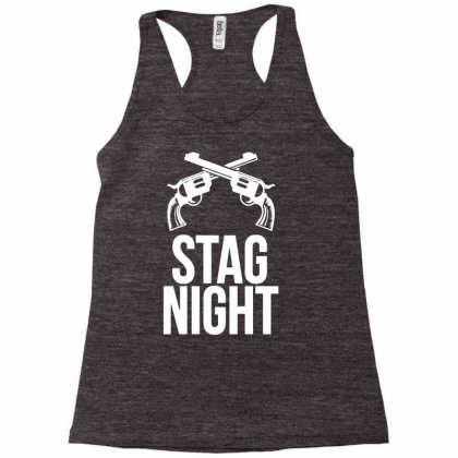 Stag Night Racerback Tank Designed By Anma4547