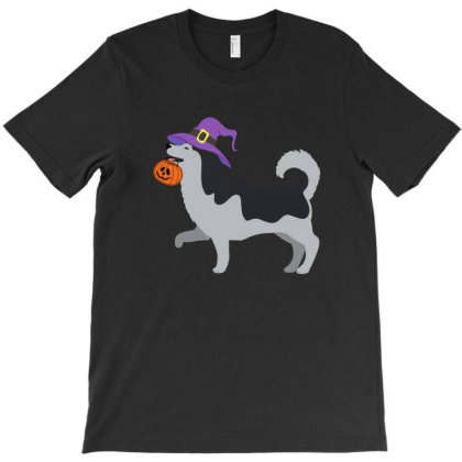 Husky Halloween T Shirt T-shirt Designed By Gnuh79