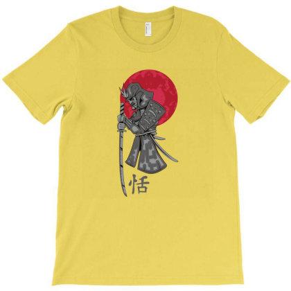 Samurai Warrior T-shirt Designed By Beeyou