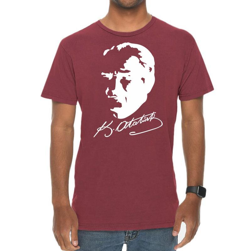 Ataturk Vintage T-shirt | Artistshot