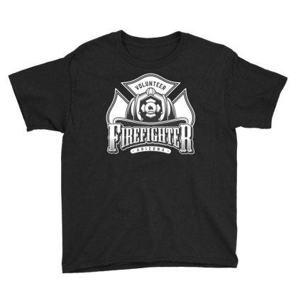 Volunteer, Firefighter, Arizona, Fir, Fireman, America, Usa Youth Tee Designed By Estore