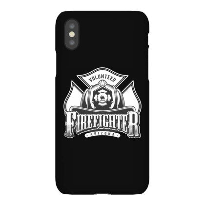 Volunteer, Firefighter, Arizona, Fir, Fireman, America, Usa Iphonex Case Designed By Estore