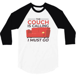 the couch is calling 3/4 Sleeve Shirt | Artistshot