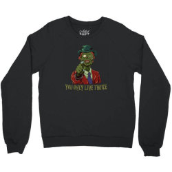 you only live twice Crewneck Sweatshirt | Artistshot