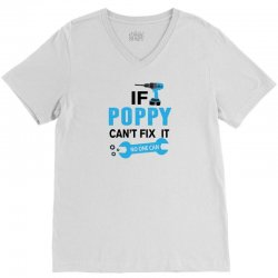 If Poppy Can't Fix It No One Can V-Neck Tee | Artistshot
