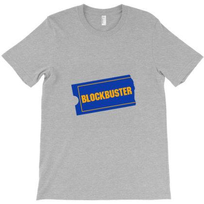 Blockbuster T-shirt Designed By Cuser4071