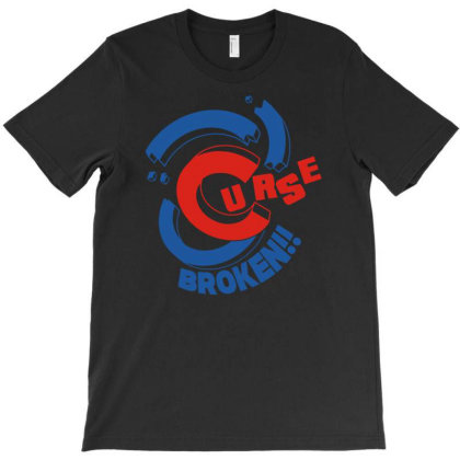 Curse Broken T-shirt Designed By Fanshirt
