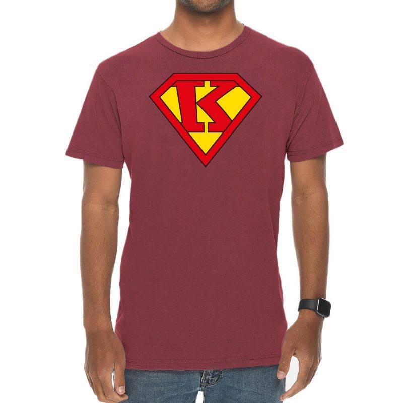 K Vintage T-shirt | Artistshot