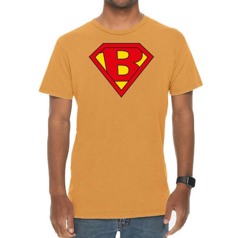 B Vintage T-shirt | Artistshot