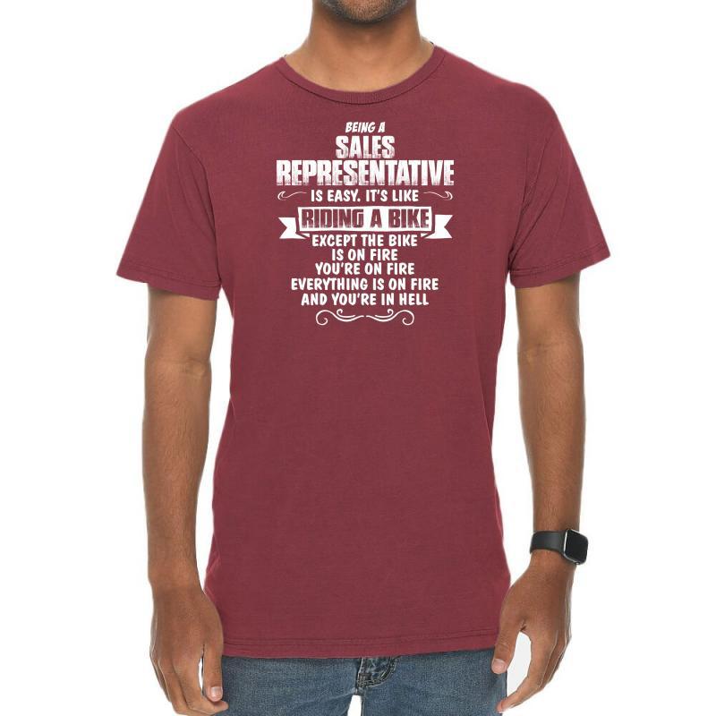 Being A Sales Representative Vintage T-shirt | Artistshot