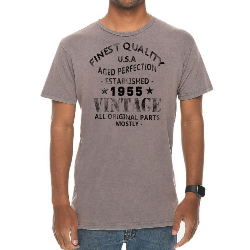 Vintage 1955 Black Vintage T-shirt | Artistshot