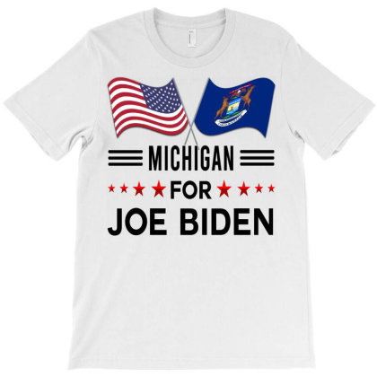 Michigan For Joe Biden  Biden 2020, Joe Biden Democrat And Former Vice T-shirt Designed By Hoainv