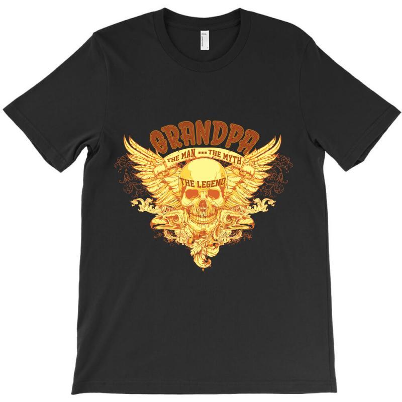 The Man  The Myth   The Legend - Grandpa T-shirt   Artistshot