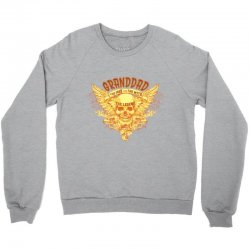 the man  the myth   the legend - granddad Crewneck Sweatshirt | Artistshot