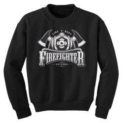 Fire dept, Firefighter, Fire, Fireman,  Arizona Youth Sweatshirt | Artistshot