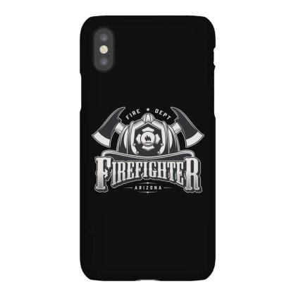 Fire Dept, Firefighter, Fire, Fireman,  Arizona Iphonex Case Designed By Estore