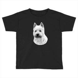 West Highland White Terrier Toddler T-shirt   Artistshot