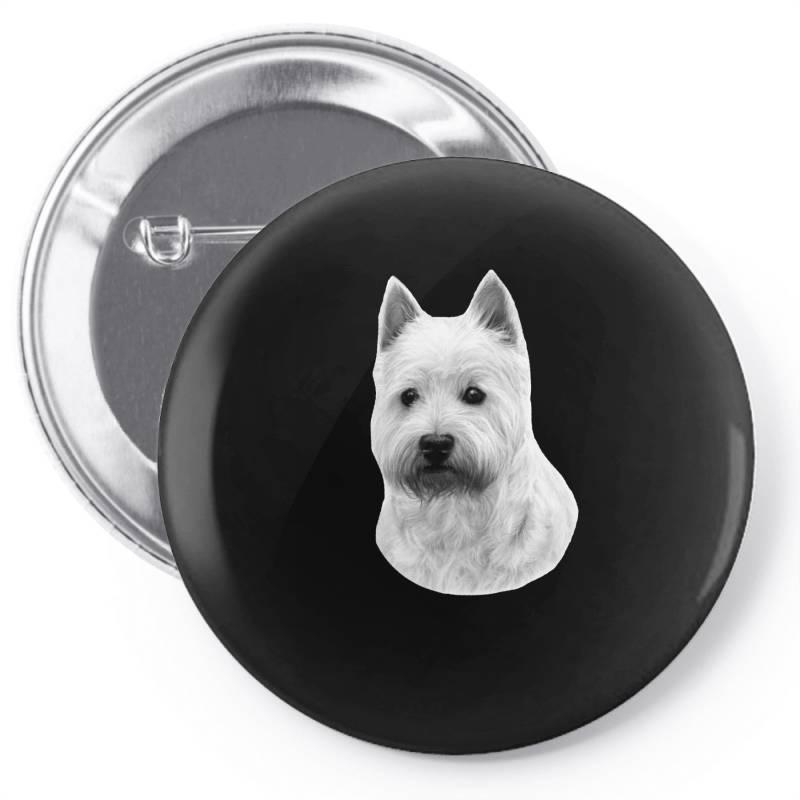 West Highland White Terrier Pin-back Button   Artistshot