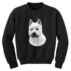 West Highland White Terrier Youth Sweatshirt   Artistshot