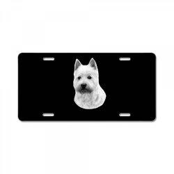 West Highland White Terrier License Plate | Artistshot