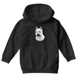 West Highland White Terrier Youth Hoodie   Artistshot