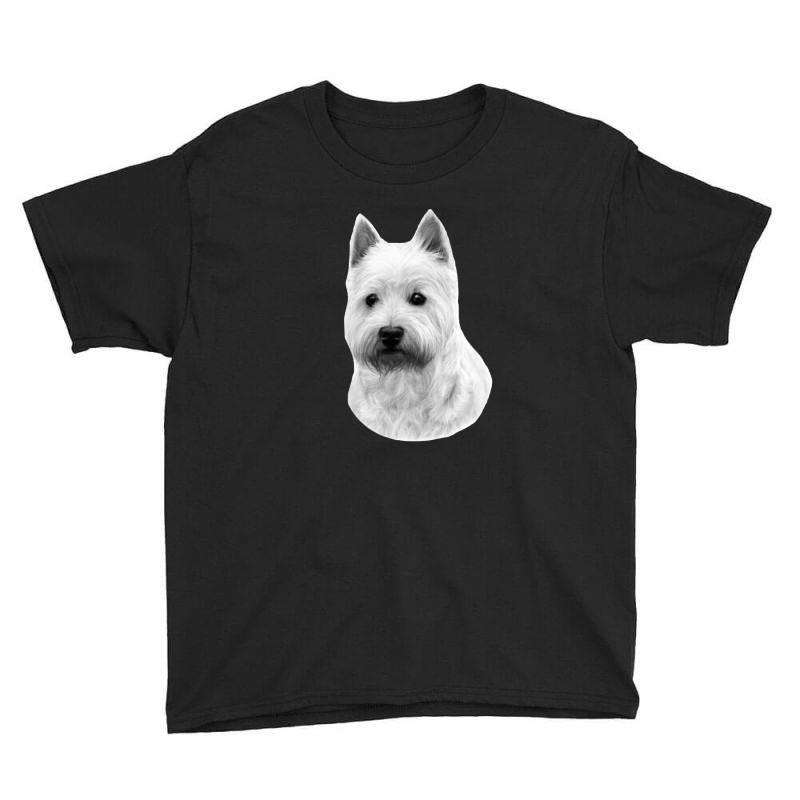 West Highland White Terrier Youth Tee   Artistshot