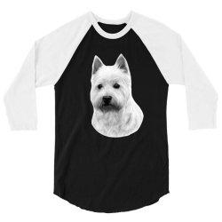 West Highland White Terrier 3/4 Sleeve Shirt   Artistshot