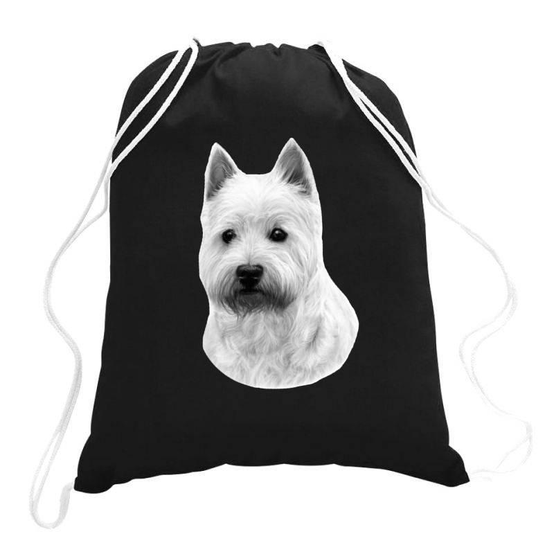 West Highland White Terrier Drawstring Bags | Artistshot