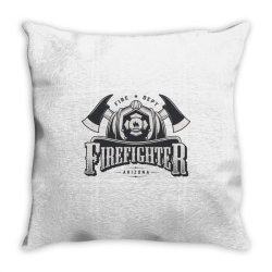 Fire dept, Firefighter, Fire, Fireman,  Arizona Throw Pillow | Artistshot
