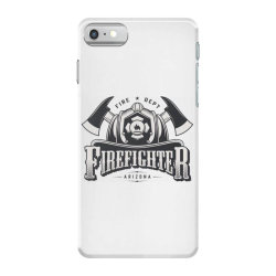 Fire dept, Firefighter, Fire, Fireman,  Arizona iPhone 7 Case | Artistshot