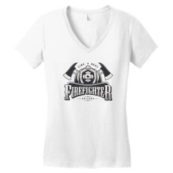 Fire dept, Firefighter, Fire, Fireman,  Arizona Women's V-Neck T-Shirt | Artistshot