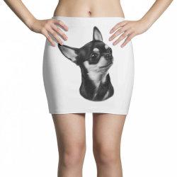 Chihuahua painting Mini Skirts | Artistshot