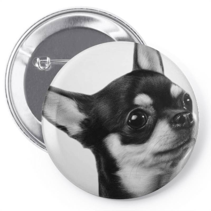 Chihuahua Painting Pin-back Button | Artistshot