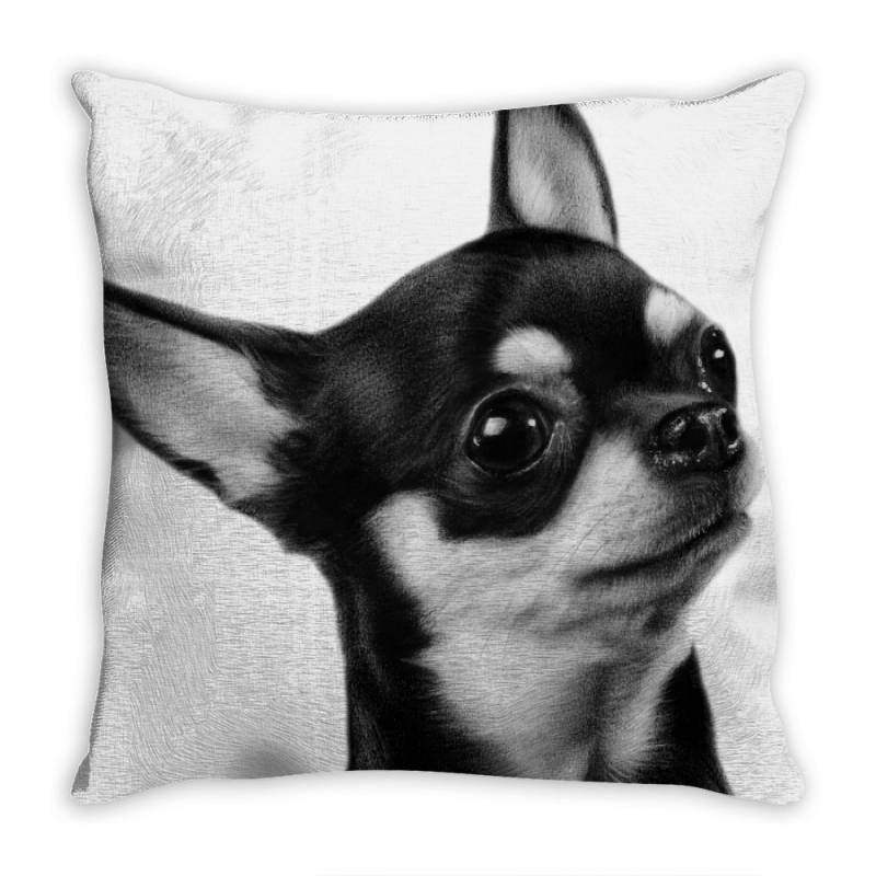 Chihuahua Painting Throw Pillow | Artistshot