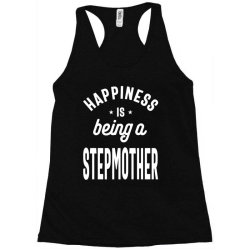Happiness Is Being a Stepmother - Mother Grandma Gift Racerback Tank | Artistshot