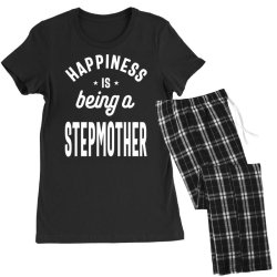 Happiness Is Being a Stepmother - Mother Grandma Gift Women's Pajamas Set | Artistshot