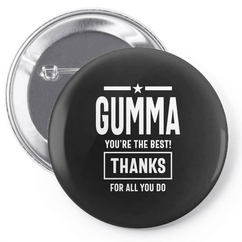 Gumma You're The Best! Mother Grandma Gift Pin-back Button | Artistshot
