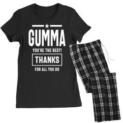 Gumma You're The Best! Mother Grandma Gift Women's Pajamas Set | Artistshot