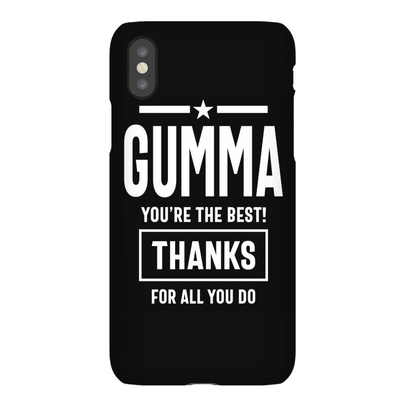 Gumma You're The Best! Mother Grandma Gift Iphonex Case   Artistshot