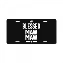 Blessed Mawmaw - Mother Grandma Gift License Plate | Artistshot
