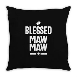 Blessed Mawmaw - Mother Grandma Gift Throw Pillow | Artistshot