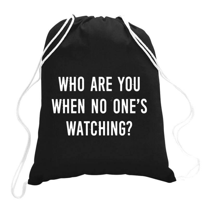 Privacy Personality True Drawstring Bags | Artistshot