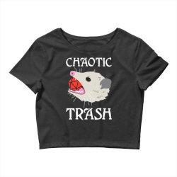 chaotic trash Crop Top | Artistshot