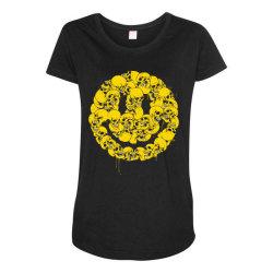 Keep smiling Maternity Scoop Neck T-shirt | Artistshot