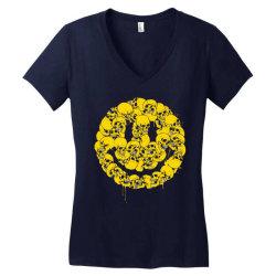 Keep smiling Women's V-Neck T-Shirt | Artistshot