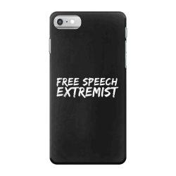 free speech extremist iPhone 7 Case | Artistshot